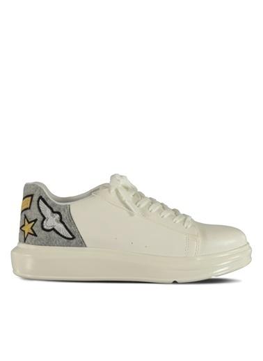 Marjin Sneakers Beyaz